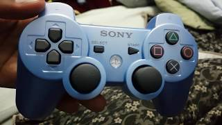Candy Blue PS3 Playstation Controller Box Opening Japan Import