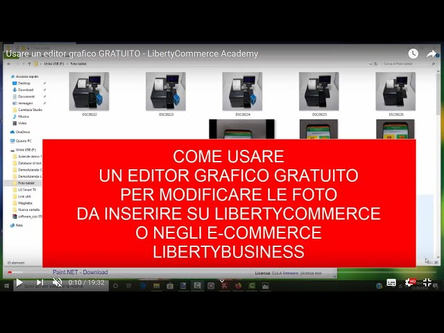 Usare un editor grafico GRATUITO - LibertyCommerce Academy