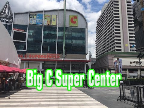 Isetan & Big C Super Center - Asian Travel To Bangkok, Thailand Video - Youtube #004