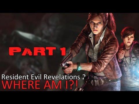 Resident Evil: Revelations 2 - Episode 1!!! Where am i?