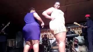 Ugandan Dancer naked on Stage.