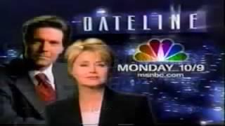 NBC Commercial Break From September 25, 1999 thumbnail