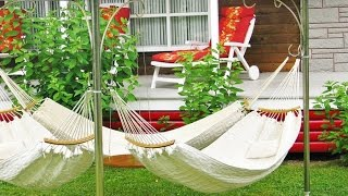 видео Гамак - место для отдыха на даче