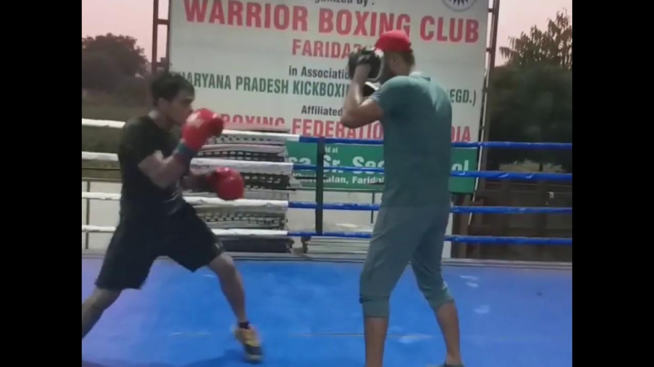 #Pad workout | sagar narwat boxer | indian professional boxer | professional boxing