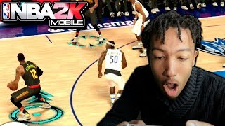 HOW TO DO CROSSOVERS IN NBA 2K MOBILE! NBA FINALS SEASON 6!
