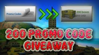 Tanki Online 200 Promo Code Container For 40 Winner! Промокод!! Танки Онлайн Giveaway