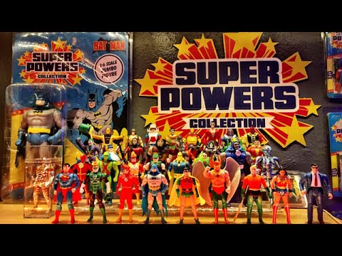 Kenner Super Powers Collection Room Tour