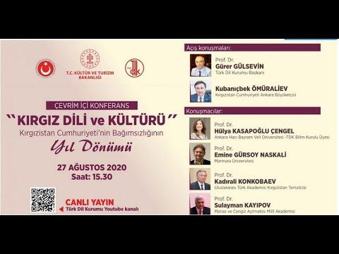 """""""Kırgız Dili ve Kültürü"""" konferansı"""