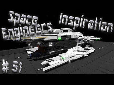 Space Engineers Inspiration - Episode 51: Magellan, Vagrant MK2, & Constellation Phoenix