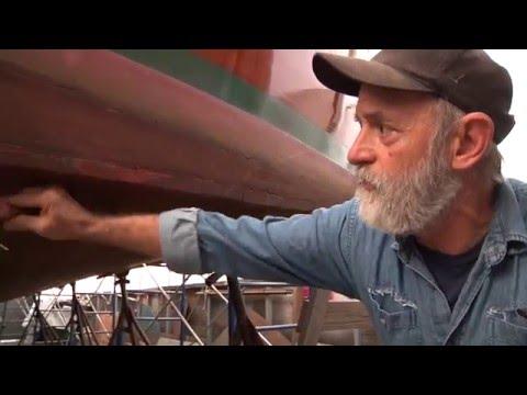 40' Wooden Lobster Yacht Survey with Shipwright Louis Sauzedde (Part 2)