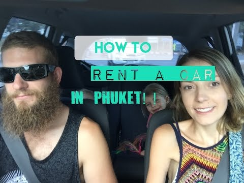 Renting a car in Phuket: Price & what you'll need