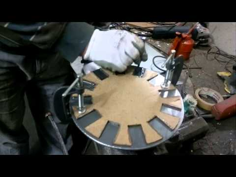 DIY VAWT  Part 4   --  Wind Generator Rotor Magnet Placement
