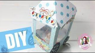 Новогодний DIY 🎄 Коробочка для конфет своими руками 🎄  Скрапбукинг 🎄 Мастер - класс