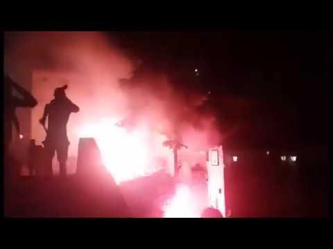 NEW VIDEO:  Aberdeen attacked by Velež Mostar hooligans 19.07.2017