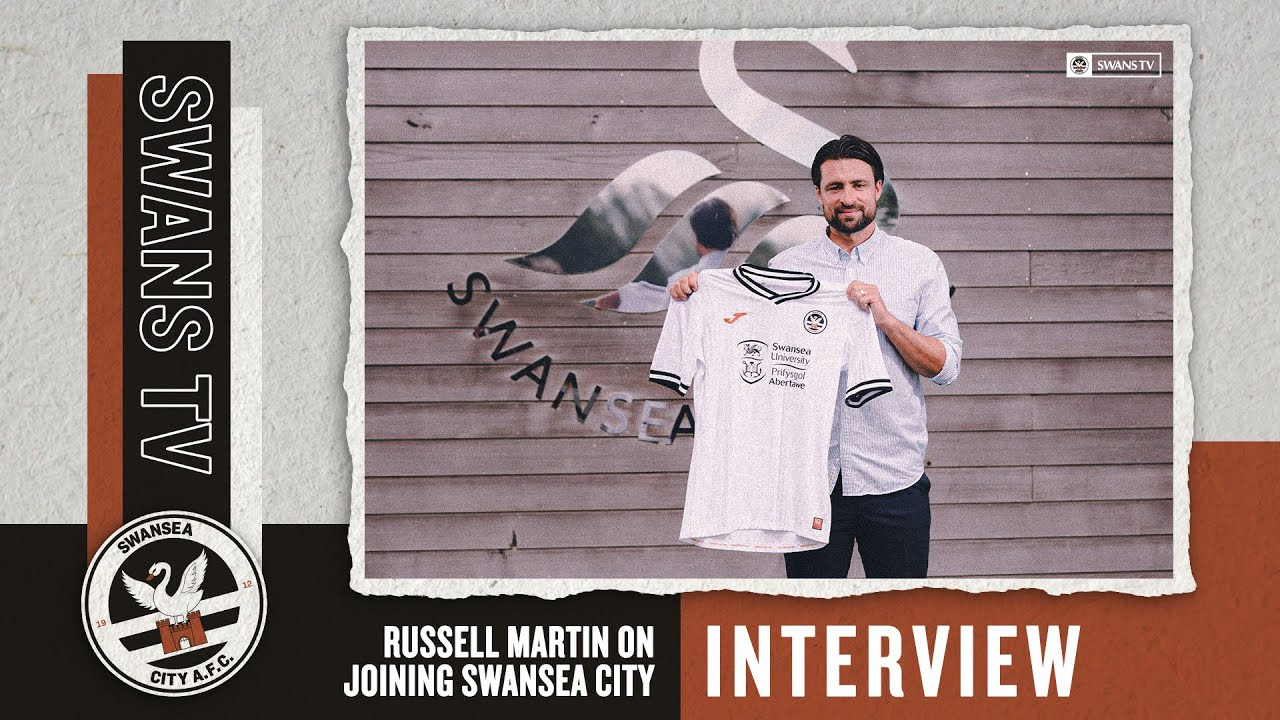 Russell Martin on joining Swansea City | Interview