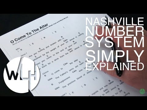 Nashville Number System - Simply Explained