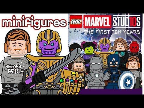 LEGO Marvel Studios Minifigures Series 2 - CMF Draft!