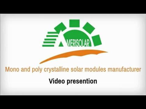 Amerisolar Video Presentation