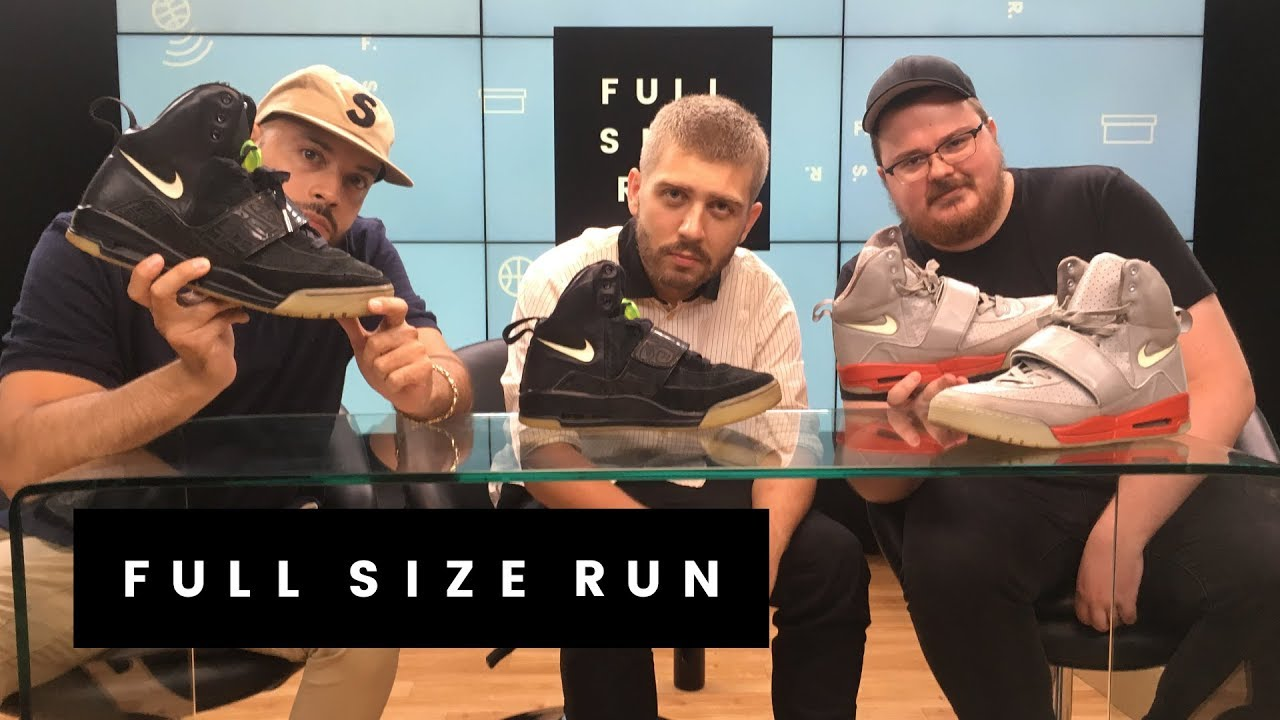 Rare Air Yeezys From Kanye West's Nike Days | Full Size Run. Sole Collector