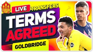 SANCHO Terms Agreed! VARANE Next? Man Utd Transfer News