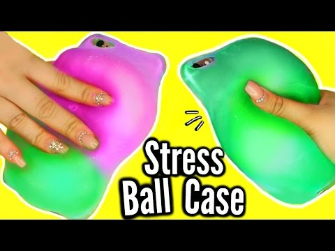 Thumbnail: DIY Stress Ball Phone Case?! WEIRDEST DIY SLIME PHONE CASE! FAIL!