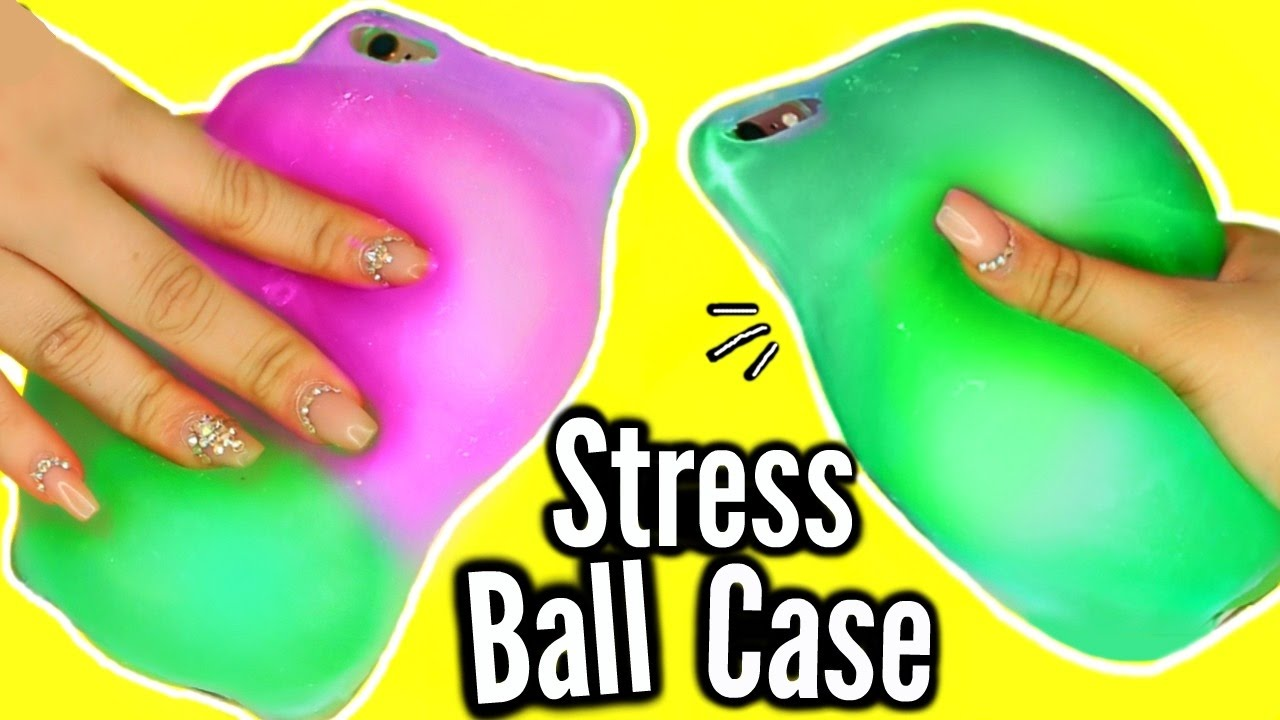 more photos 4af13 f19f4 DIY Stress Ball Phone Case?! WEIRDEST DIY SLIME PHONE CASE! FAIL!