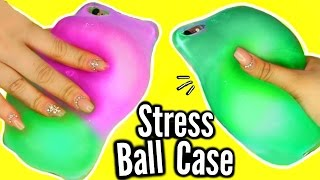 DIY Stress Ball Phone Case?! WEIRDEST DIY SLIME PHONE CASE! FAIL! thumbnail
