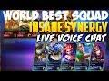 WORLD BEST SQUAD INSANE FIVE MAN GAMEPLAY   MOBILE LEGENDS