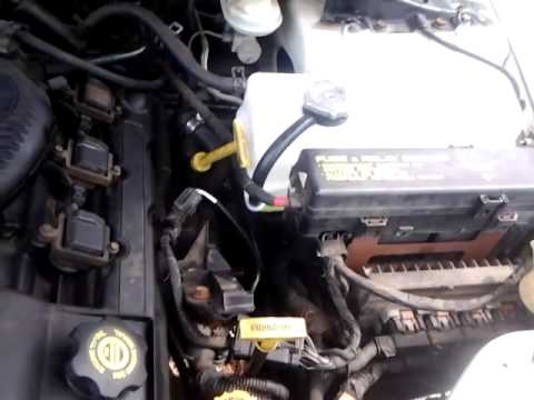2002 Dodge Intrepid New Coolant Overflow Tank Youtube
