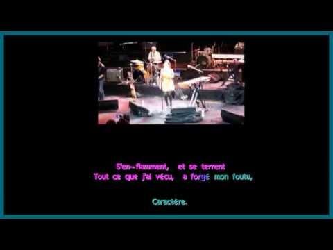 Joyce Jonathan - Caractère -  Karaoke (Lyrics) - Instrumental - HD