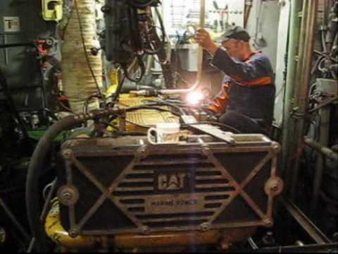 Caterpillar 3406E Marine Overhaul Once Upon A Time In WIHURI CAT