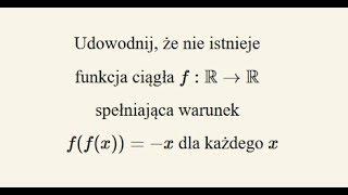 Zadanie z OM - równanie funkcyjne