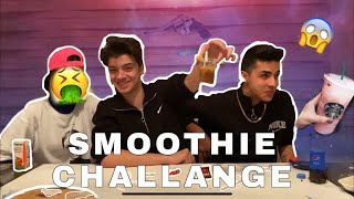 RUS RULETİ SMOOTHİE CHALLENGE | (w/Buse Korkmaz, Cellat)