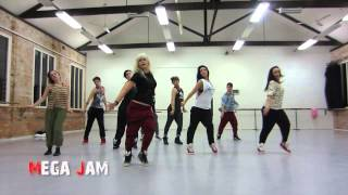 'Blurred Lines' Robin Thicke choreography by Jasmine Meakin (Mega Jam)
