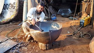 Iron Tandoor | Oven Making