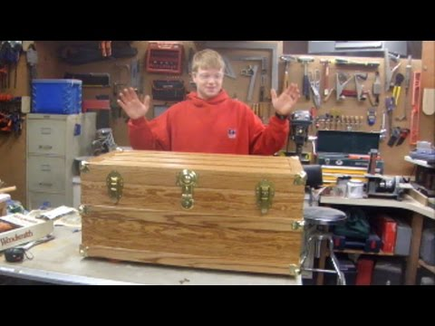 Steamer Trunk Hope Chest Build