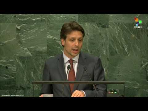 UN Speeches: Guillaume Long, Minister of Foreign Affairs Ecuador