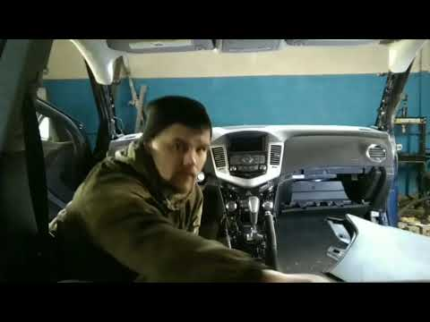 Снимаем торпедо SHEVROLET CRUZE 2015 /Пошагово.