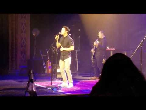 David Archuleta- A little too not over you- The Triple Door, Seattle, WA 2017.