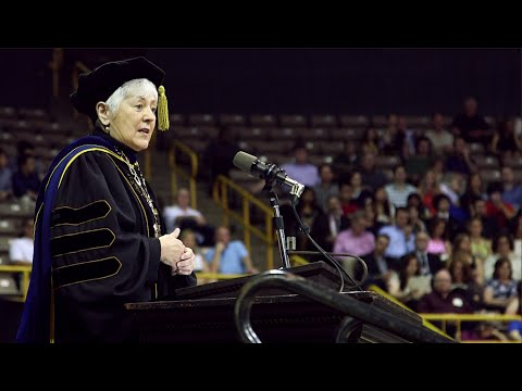 President Sally Mason's 2015 Commencement Address, College of Liberal Arts and Sciences