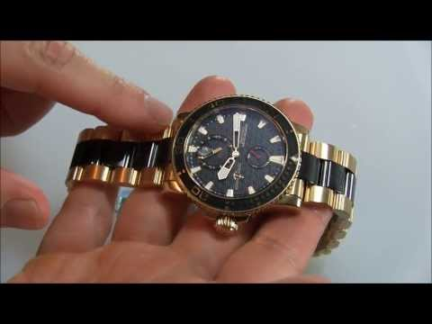 Ulysse Nardin Maxi Marine Diver Gold Ceramic Watch Review