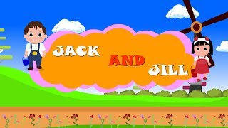 jack and jill | Animation Rhymes For Kids | Funny Kids | Kids Songs & Kids Rhymes
