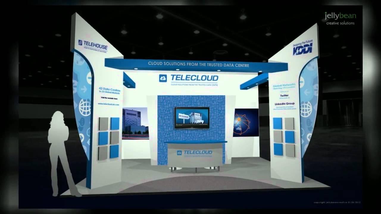 Trade Exhibition Stand Design : Exhibition stand design trade show contractors youtube