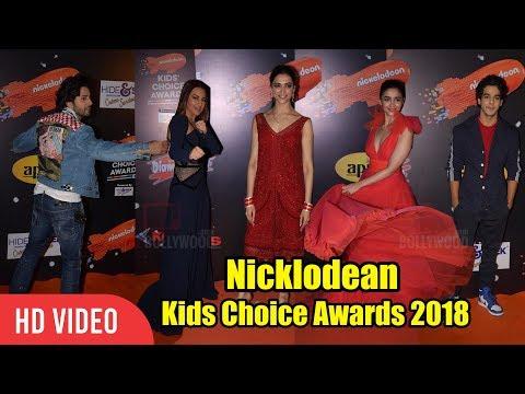 Nicklodean Kids Choice Awards 2018 | Full Event | Deepika, Alia, Sonakshi, Varun Dhawan