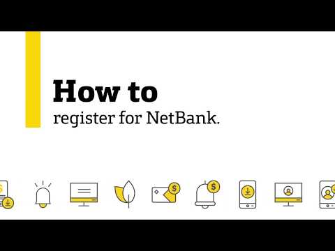 How To Register For NetBank