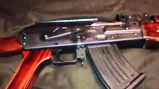 Zastava Pap Wood Furniture Kit Yugo Slant Cut Reciever 7.62x39 Rifle