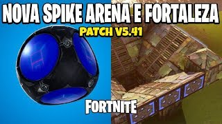 FORTNITE-NEW ARENA OF THORNS AND NEW FORTRESS | WHAT'S NEW IN PATCH v 5.41
