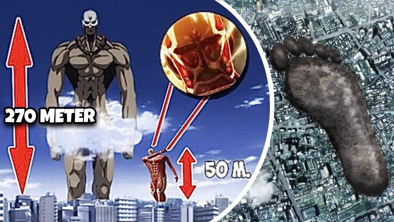 BANGUNAN KALAH GEDE! Inilah Monster Terbesar di Dunia Anime yang Gaada Obat Besarnya!