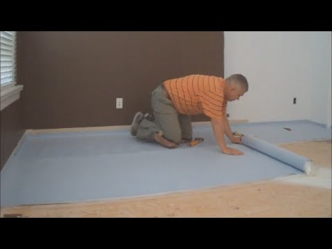 How To Install Underlayment For Laminate Flooring Installation