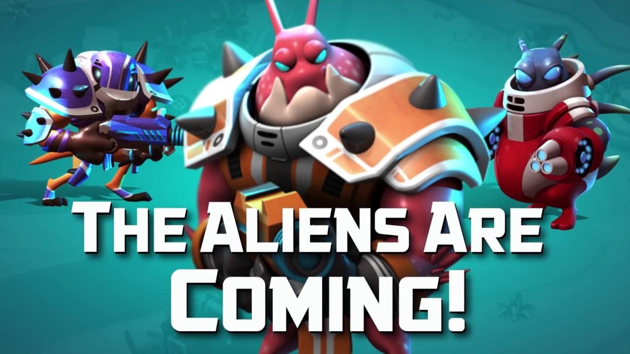 Alien Creeps TD Game Trailer